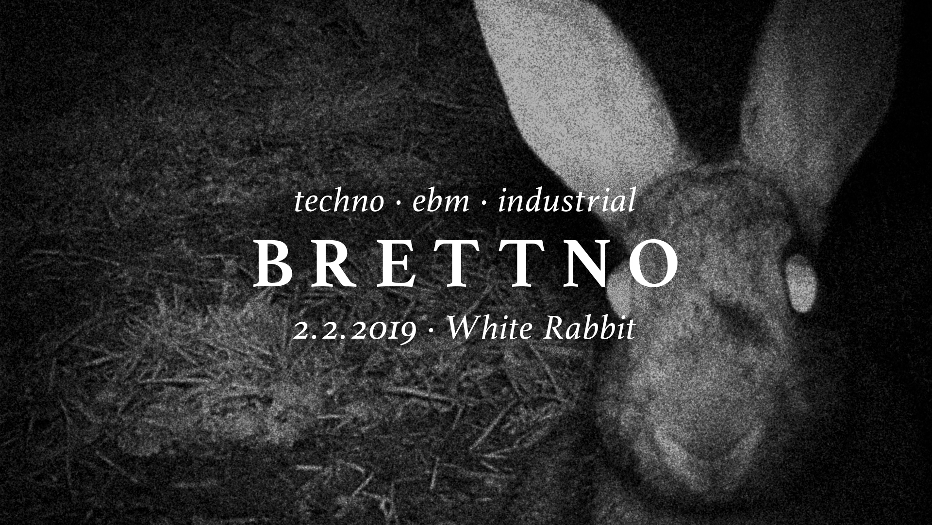 Brettno techno ebm industrial party freiburg white rabbit bretterbude noracism nosexism nohomophobia